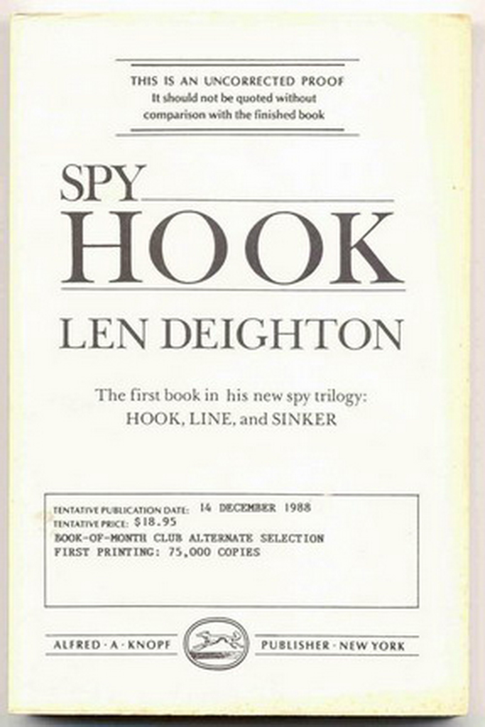 Image for Spy Hook