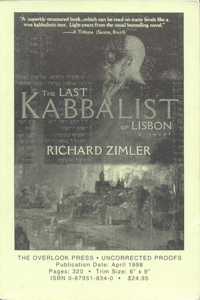 Image for Last Kabbalist in Lisbon, The