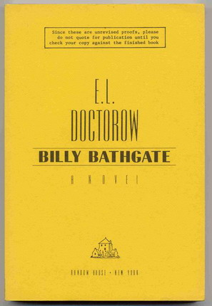 Image for Billy Bathgate - Proof