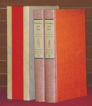 Image for Dombey and Son - Two Volumes