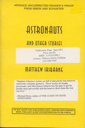 Image for Astronauts and Other Stories