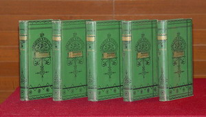 Image for Poetical Works of Edmund Spenser - 5 Volumes