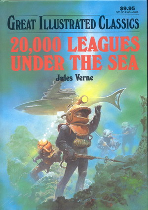 Image for Great Illustrated Classics: 20,000 Leagues Under the Sea