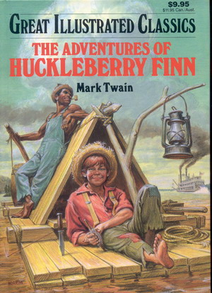 Image for Great Illustrated Classics: The Adventures of  Huckleberry Finn