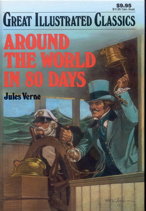 Image for Great Illustrated Classics: Around the World in 80 Days