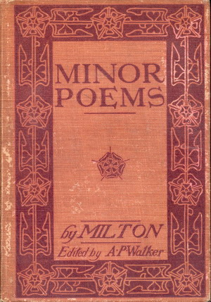 Image for Minor Poems
