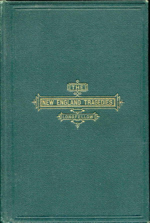Image for New England Tragedies, The