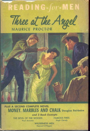 Image for Reading for Men: Three at the Angel, Money ,Marbles and Chalk