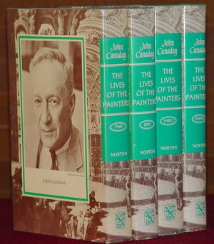 Image for Lives of the Painters - 4 Volumes
